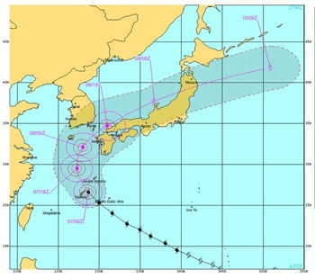 2013台風24号米軍進路予想.jpg